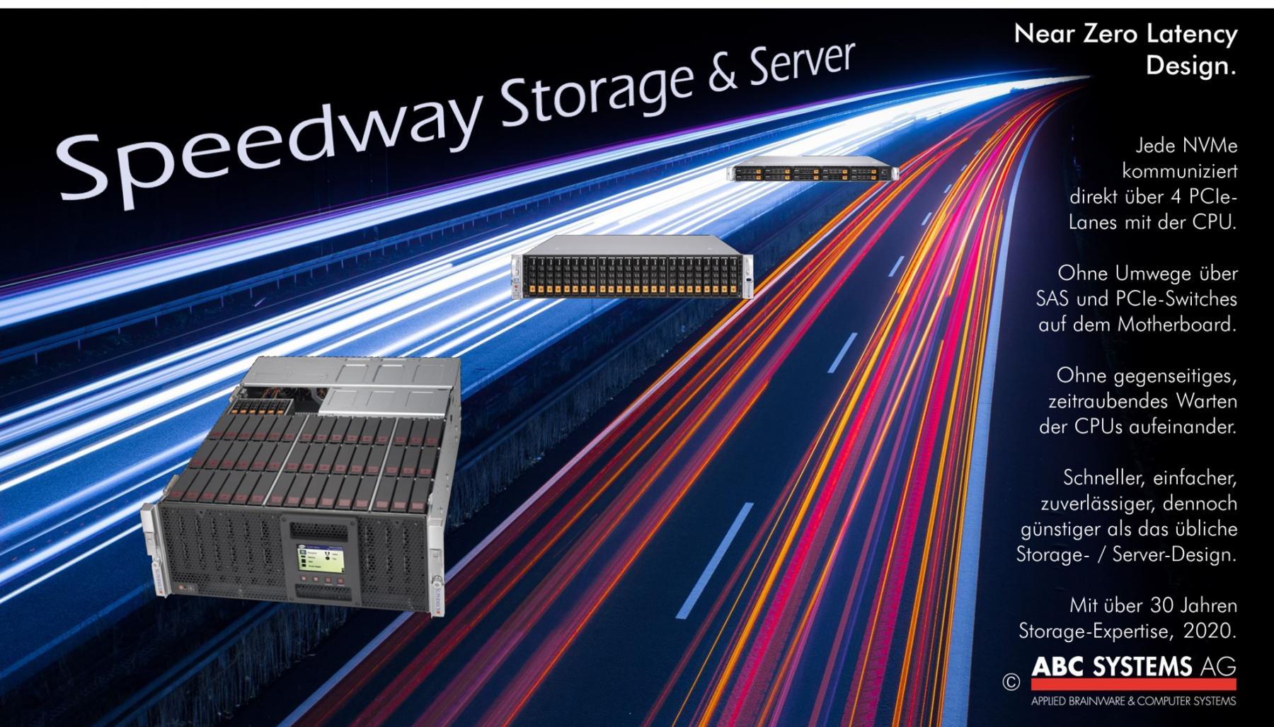 Speedway Storage & Server