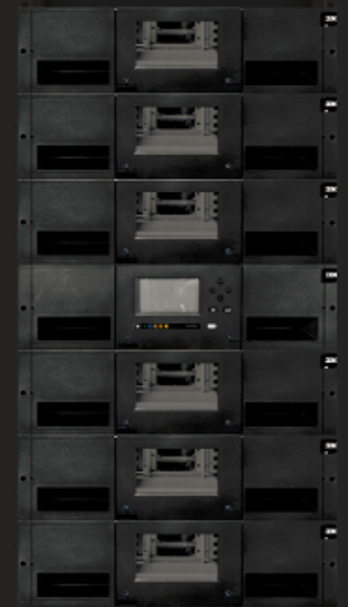 IBM TS4300 Stack